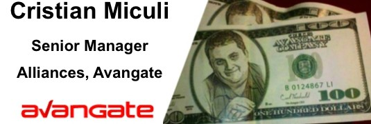 Cristian Miculi – Senior Manager, Alliances, Avangate