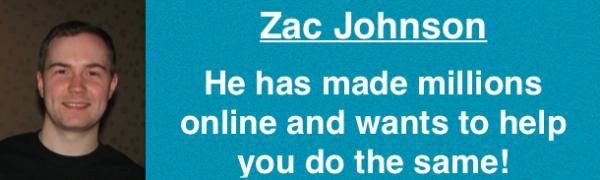 Zac Johnson - a supper affiliate, blogger and entrepreneur
