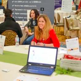 Stephanie Robbins in the Affiliate Summit
