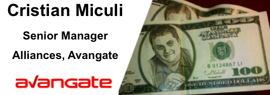 Cristian Miculi – Senior Manager, Alliances, Avangate